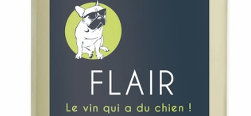 illustration Flair, le vin qui a du chien