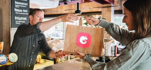illustration Deliveroo x Karma contre le gaspillage alimentaire
