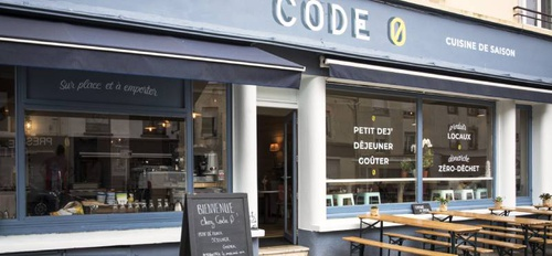 illustration Code Ø : café de quartier engagé