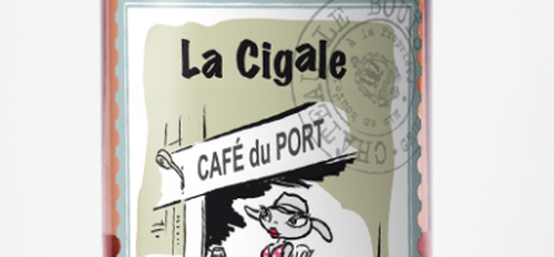 illustration Chant de cigales à l'apéro
