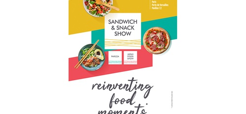 illustration Le sandwich & snack show se réinvente
