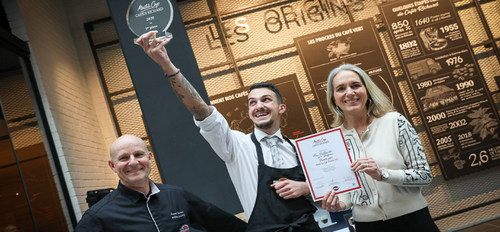 illustration Max Gaillardo remporte le Master Cup Cafés Richard