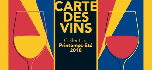 illustration La carte de vins Printemps-Été